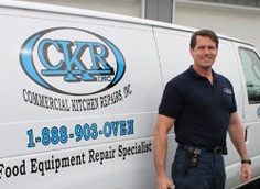 Commercial Kitchen Repairs Owner, Dwight P. Boris