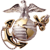 US marines badge